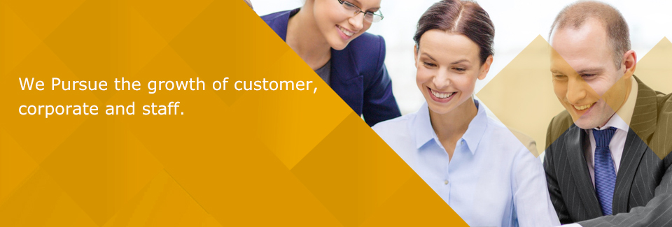 We Pursue the growth of customer,